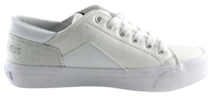 Guess White and Silver Athletic