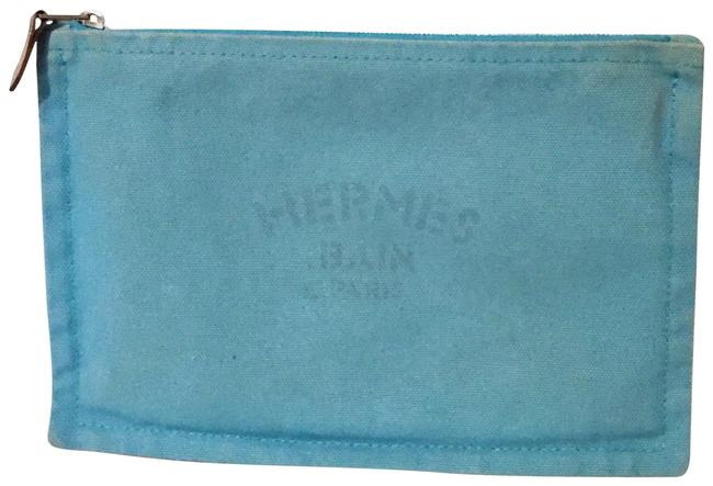 Item - Blue Flat Bain Trousse Pm Yachting Pouch Bag Wallet