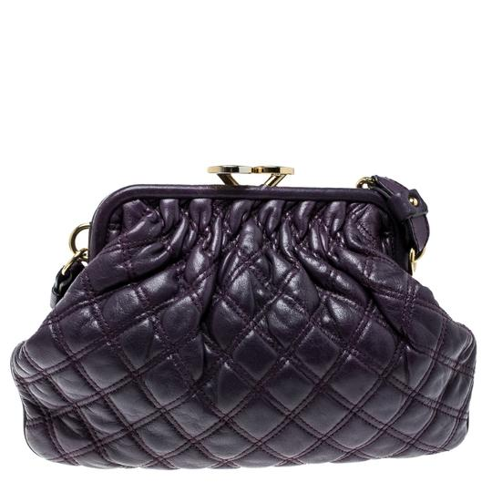 Marc Jacobs Leather Fabric Shoulder Bag Image 1