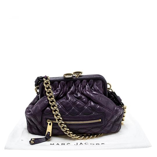 Marc Jacobs Leather Fabric Shoulder Bag Image 10