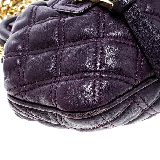 Marc Jacobs Leather Fabric Shoulder Bag Image 5