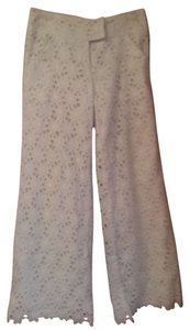 Lilly Pulitzer Eyelet Resort Trouser Pants White