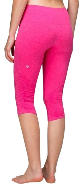 Item - Pink Seamless Compression In The Flow Leggings Activewear Bottoms Size 4 (S, 27)