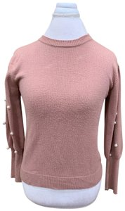 Do & Be Pearl Sleeve Color Sweater