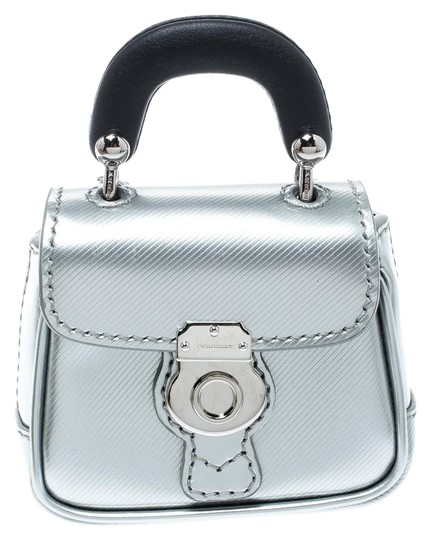 Preload https://img-static.tradesy.com/item/25781209/burberry-grey-greyblack-patent-leather-dk88-bag-charm-0-1-540-540.jpg