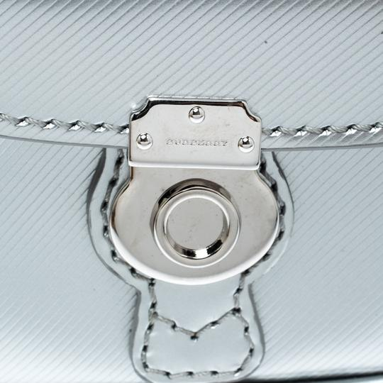 Burberry Grey/Black Patent Leather DK88 Bag Charm Image 5