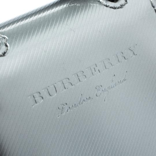 Burberry Grey/Black Patent Leather DK88 Bag Charm Image 6