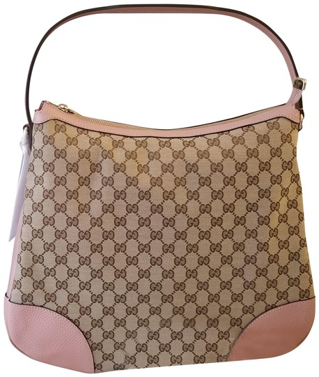 Preload https://img-static.tradesy.com/item/25781776/gucci-bree-canvas-beigepink-gg-leather-hobo-bag-0-1-540-540.jpg