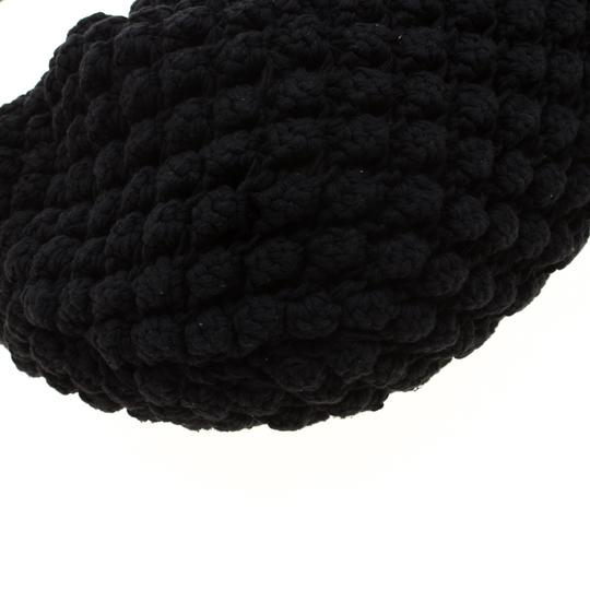 Sonia Rykiel Crochet Fabric Hobo Bag Image 4