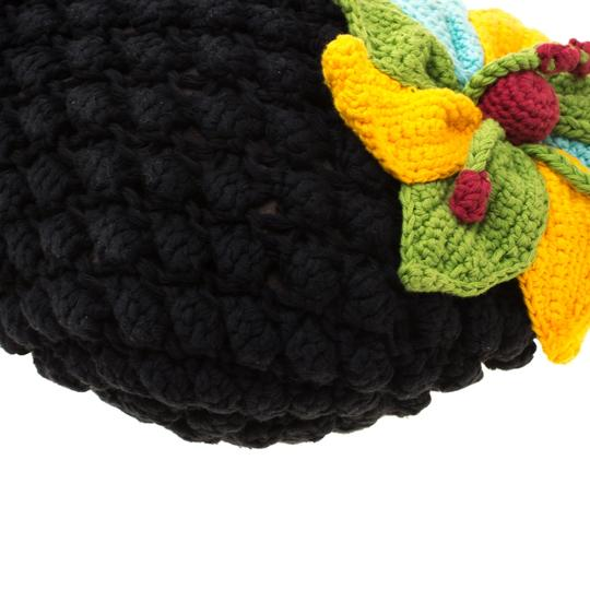 Sonia Rykiel Crochet Fabric Hobo Bag Image 7