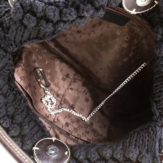 Sonia Rykiel Crochet Fabric Hobo Bag Image 8