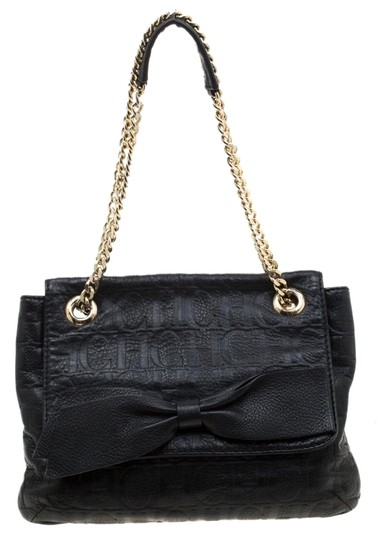 Preload https://img-static.tradesy.com/item/25781851/carolina-herrera-monogram-audrey-black-leather-shoulder-bag-0-1-540-540.jpg