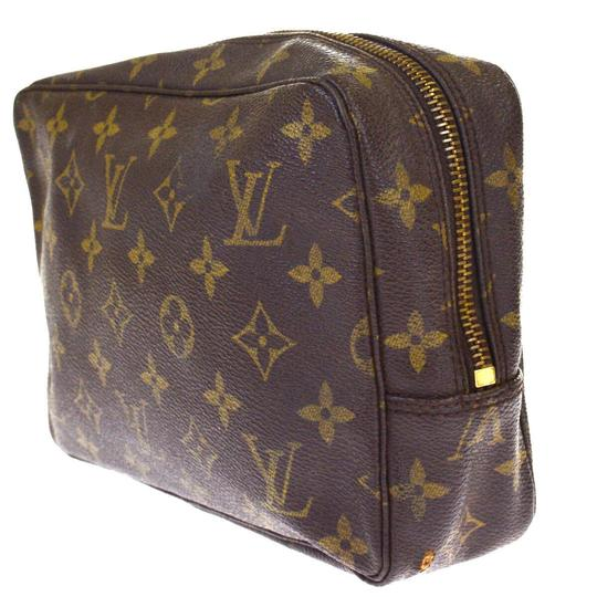 Louis Vuitton Made In France Brown Clutch Image 1
