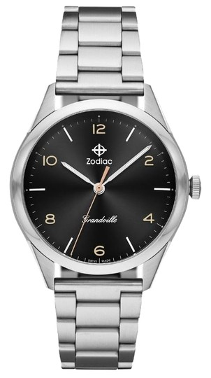 Zodiac NWT Grandville Stainless Steel Watch ZO9300 Image 0
