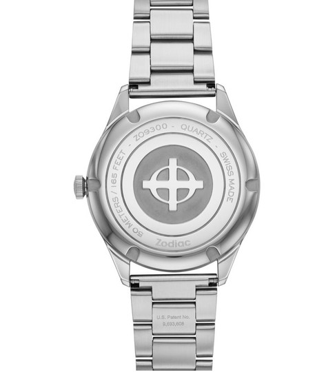 Zodiac NWT Grandville Stainless Steel Watch ZO9300 Image 2