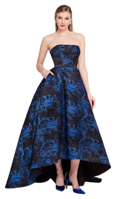Preload https://img-static.tradesy.com/item/25781899/terani-couture-blue-and-black-1722e4236-strapless-gown-long-formal-dress-size-10-m-0-1-650-650.jpg