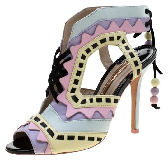 Preload https://img-static.tradesy.com/item/25781902/sophia-webster-multicolor-glitter-and-leather-riko-cut-out-sandals-size-eu-37-approx-us-7-regular-m-0-1-540-540.jpg