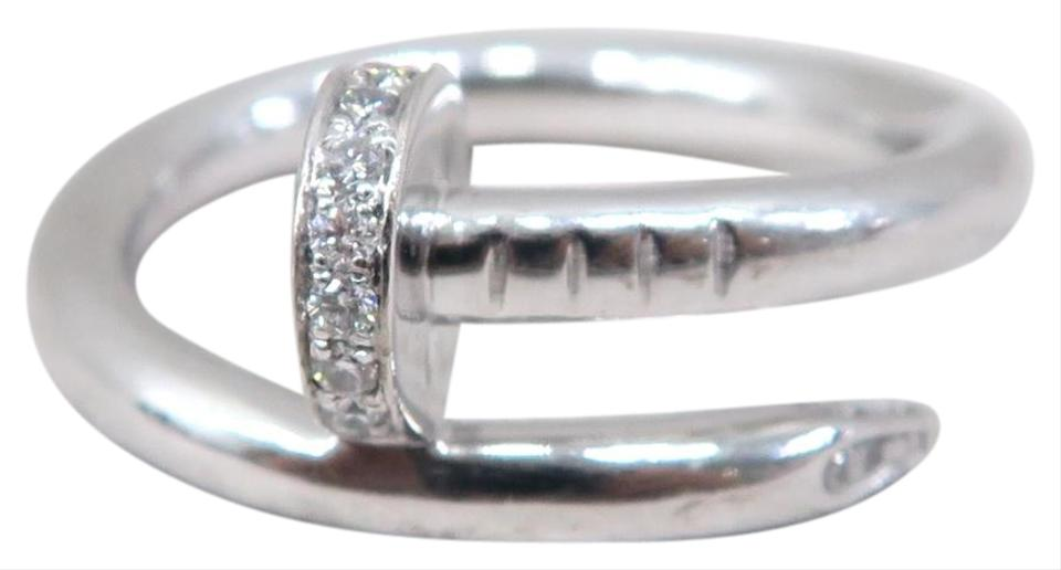 1e9acd294251d Cartier White Gold Diamond Juste Un Clou Ring