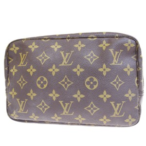 Louis Vuitton Made In France Brown Clutch