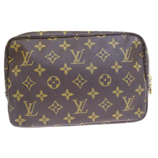 Louis Vuitton Made In France Brown Clutch Image 2