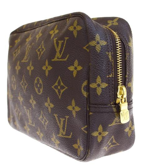 Louis Vuitton Made In France Brown Clutch Image 3