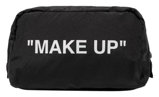 Preload https://img-static.tradesy.com/item/25781967/off-whitetm-printed-shell-make-up-cosmetic-bag-0-1-540-540.jpg