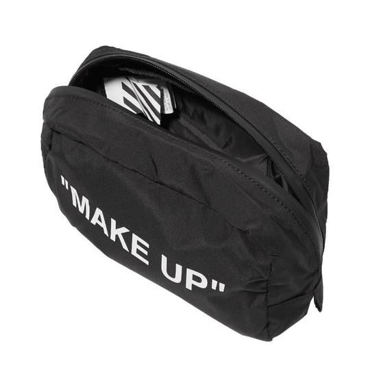 Off-White Printed shell make up bag Image 2