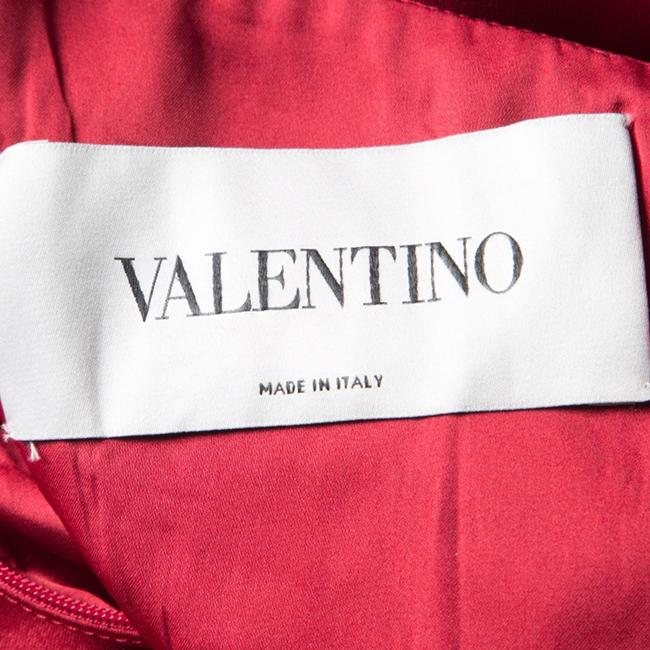 Red Maxi Dress by Valentino Detail One Shoulder Viscose Polyester Elastane Image 5