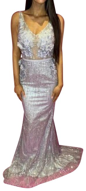 Preload https://img-static.tradesy.com/item/25781977/ice-silver-and-lilac-color-ps1905-in-ice-long-formal-dress-size-6-s-0-1-650-650.jpg