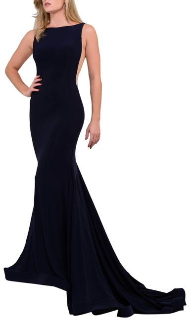 Backless Long Formal Dress Size 0