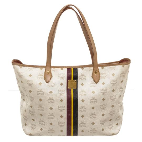 Preload https://img-static.tradesy.com/item/25782001/mcm-tote-white-visetos-multicolor-coated-canvas-and-leather-shoulder-bag-0-0-540-540.jpg