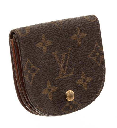 Louis Vuitton Louis Vuitton Monogram Canvas Leather Vintage Coin Purse Image 1