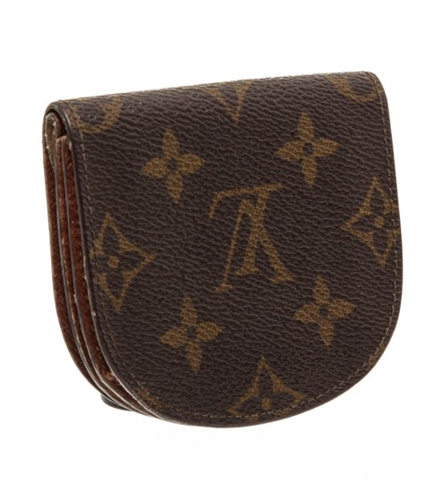 Louis Vuitton Louis Vuitton Monogram Canvas Leather Vintage Coin Purse Image 2
