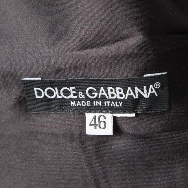 Dolce&Gabbana short dress Grey Monchrome Silk Viscose on Tradesy Image 3