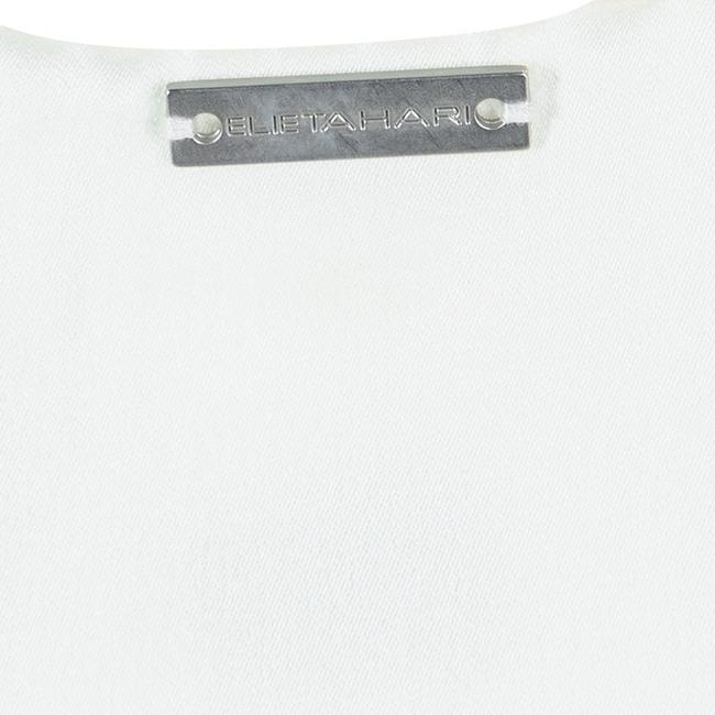 Elie Tahari Silk Embellished Sleeveless Top White Image 3