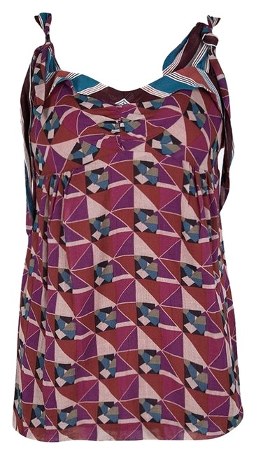 Preload https://img-static.tradesy.com/item/25782126/marc-jacobs-multicolor-geometric-print-sleeveless-tie-detail-cotton-m-blouse-size-10-m-0-1-650-650.jpg