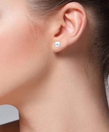Other BALL STUD 8MM EARRINGS Image 3