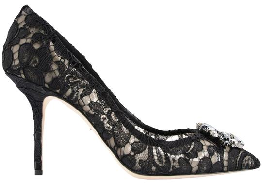 Preload https://img-static.tradesy.com/item/25782216/dolce-and-gabbana-black-lace-charmant-in-viscose-pumps-size-eu-39-approx-us-9-regular-m-b-0-1-540-540.jpg