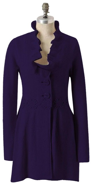 Item - Purple XL Alice In Autumn Sweater By Charlie & Robin Coat Size 16 (XL, Plus 0x)