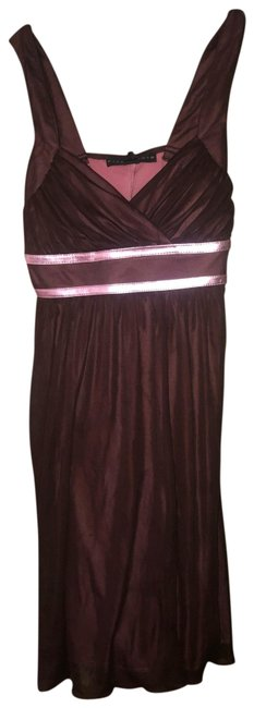 Preload https://img-static.tradesy.com/item/25782220/pink-and-brown-mini-short-night-out-dress-size-petite-4-s-0-1-650-650.jpg