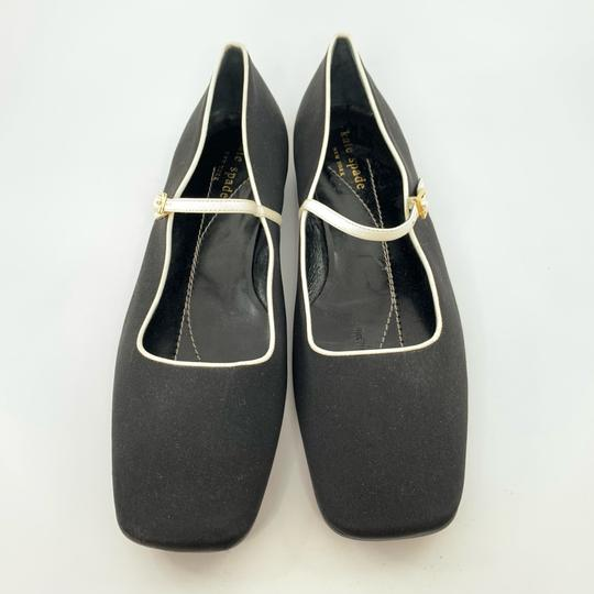 Kate Spade black with white trim Flats Image 1