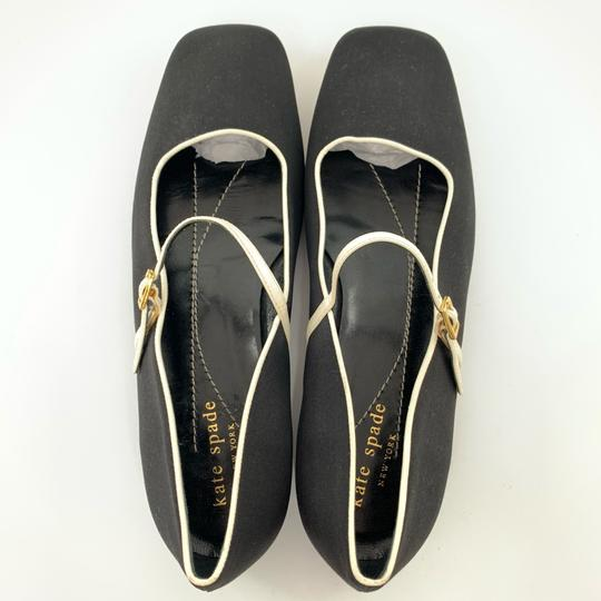 Kate Spade black with white trim Flats Image 3