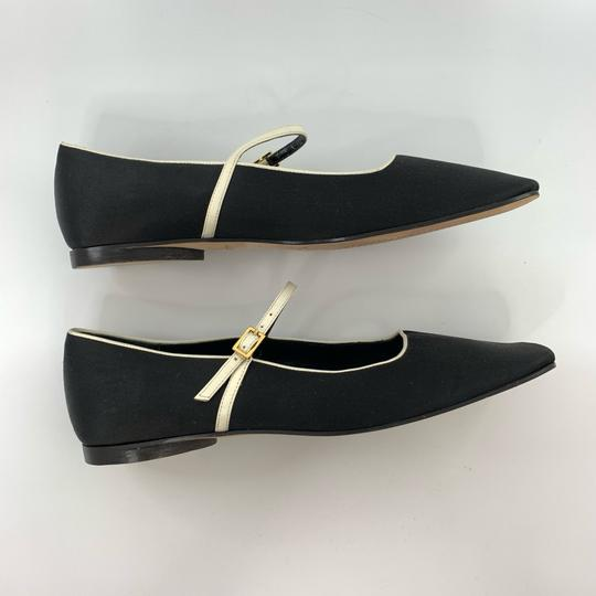 Kate Spade black with white trim Flats Image 4