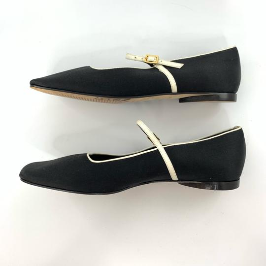 Kate Spade black with white trim Flats Image 5