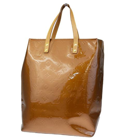Louis Vuitton Made In France Tote in Bronze Image 3