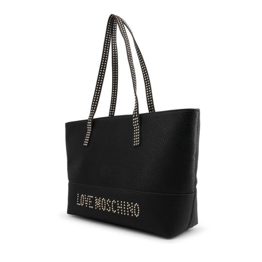 Love Moschino Tote in Black Image 1