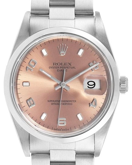 Preload https://img-static.tradesy.com/item/25782262/rolex-salmon-date-dial-oyster-bracelet-steel-unisex-15200-watch-0-1-540-540.jpg