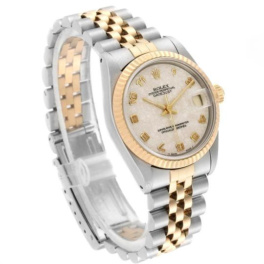 Rolex Rolex Datejust Midsize 31mm Steel Yellow Gold Dial Ladies Watch 68273 Image 2