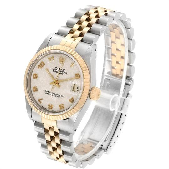 Rolex Rolex Datejust Midsize 31mm Steel Yellow Gold Dial Ladies Watch 68273 Image 3