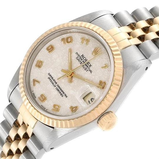 Rolex Rolex Datejust Midsize 31mm Steel Yellow Gold Dial Ladies Watch 68273 Image 4